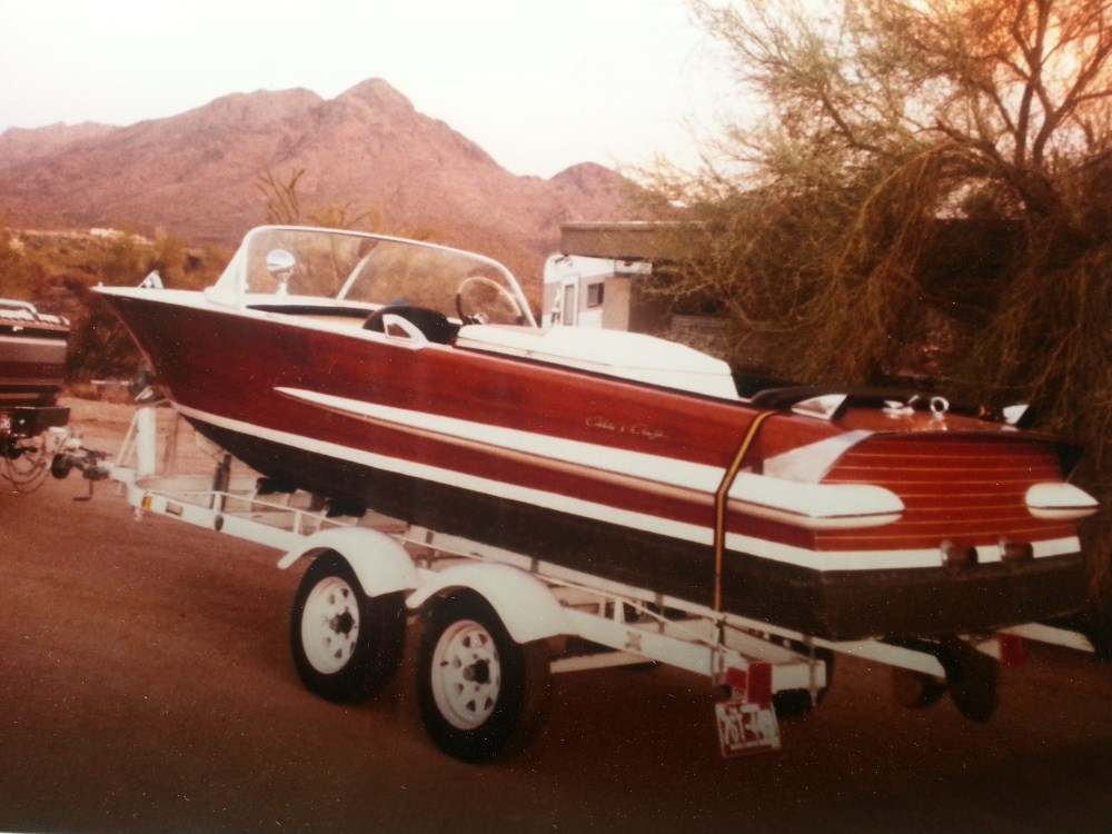 1962 20' Chris Craft Holiday Boat